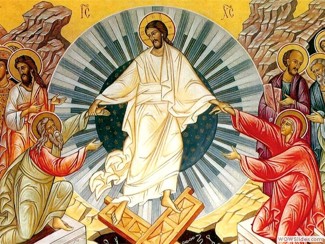 Christ is risen!  Truly He is risen!